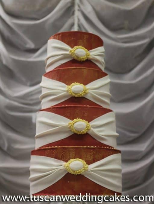 Tuscan Wedding Cakes Christmas Cake